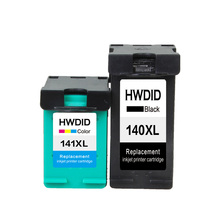 2 шт. картридж с чернилами для HP 140 141 140XL 141XL для HP Photosmart C4283 C4583 C4483 C5283 D5363 Deskjet D4263 D4363 принтера