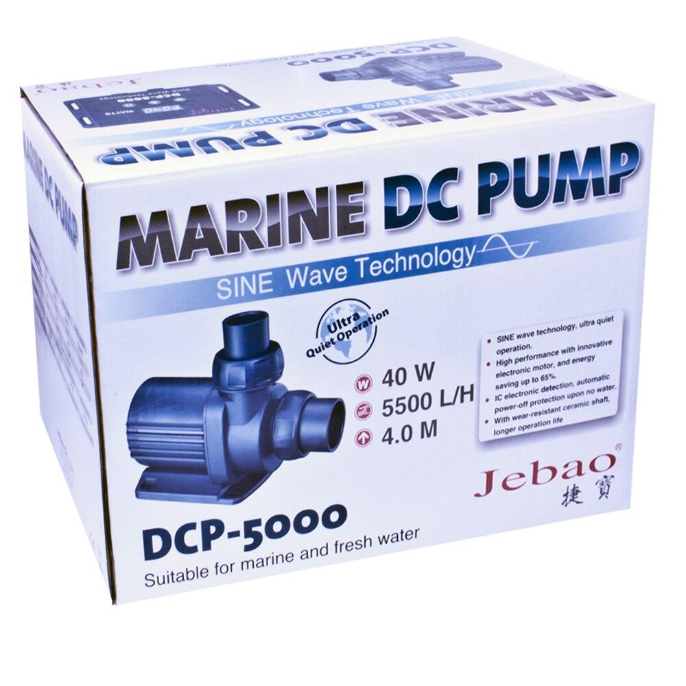 5000L/h Jebao DCP-5000 Contrôlable Marine DC Pompe De Retour Eau aquarium d'aquarium Étang de Jardin pompe submersible Onde sinusoïdale Tech