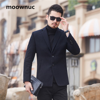 2018 New Men's Clothing Formal Blazers Hombre Spring Autumn Casual Coat Masculino Cotton Slim Fit Fashion Jacket Blazer Men