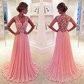 Long Prom Dresses A Line Deep V Neck Appliques Formal Woman Party Evening Gowns vestidos de gala galajurken Custom Made