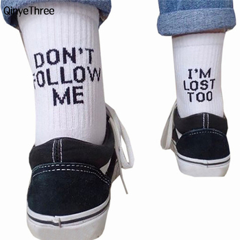 word printed Creative Heels sokken Street Skateboard Basket ball Socks