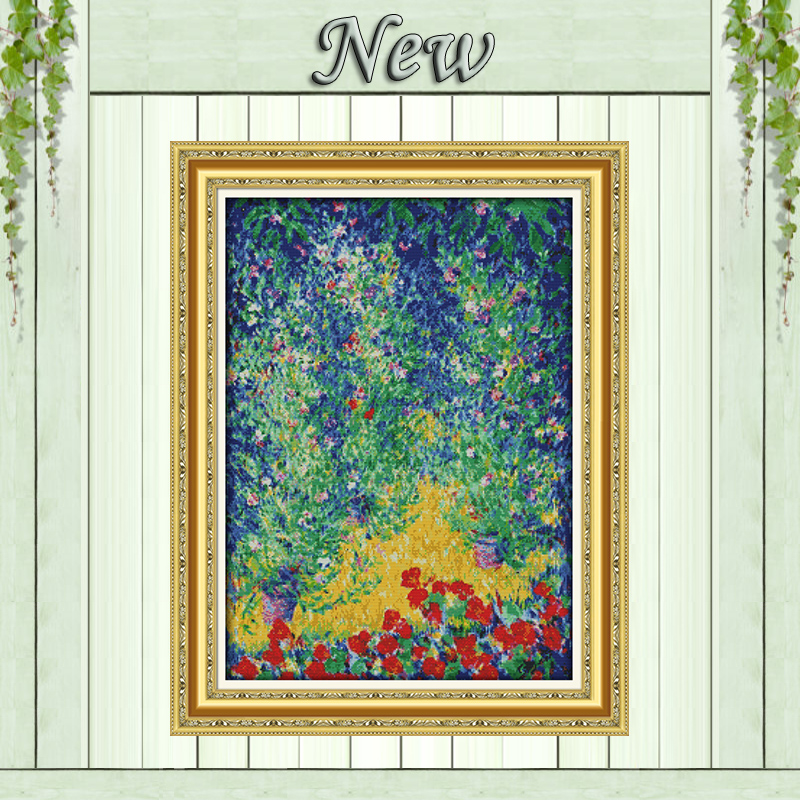 Diplomatic Spread The Sail Scenery Decor Painting Counted Print On Canvas Dmc 14ct 11ct Chinese Cross Stitch Needlework Set Embroidery Kits Package Home & Garden