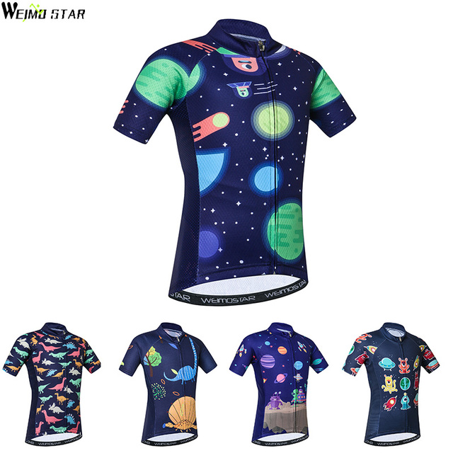 19549a4013b Kids Cycling Jersey Weimostar Cycling Clothing Ropa Ciclismo Breathale Boys  Girls children Bike Clothing Jersey Tops