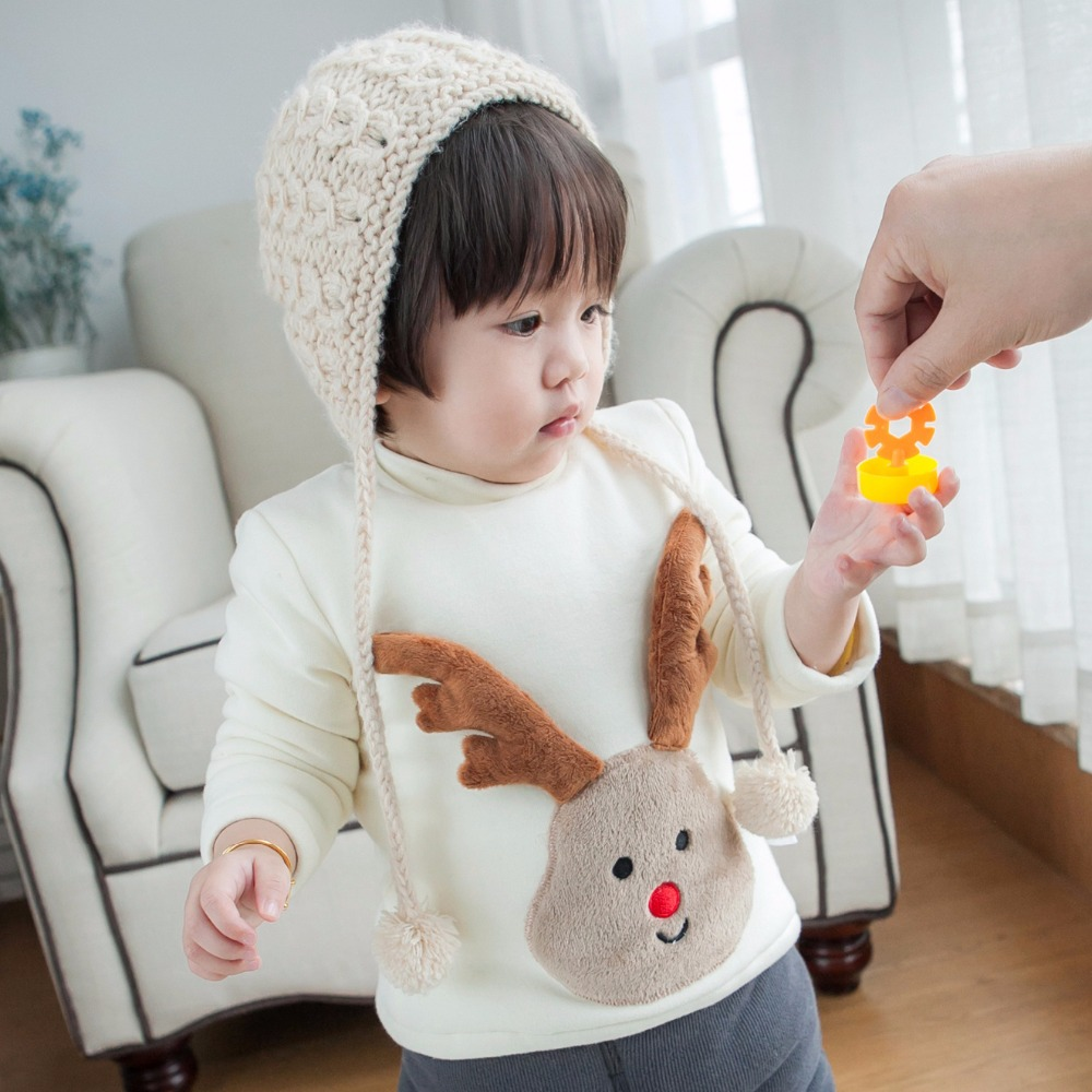 Christmas-Dear-Party-Baby-Boys-Sweaters-Winter-Warm-Cotton-Padded-Jackets-for-Girls-Embroidery-Fur-Velvet-Pullover-Coats-Clothes-2