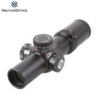 Векторная оптика 1 6x28 FFP компактный Riflescope 35 мм Высокое качество с низким креплением Кольца fit. 308. 223 DPMS Bushmaster Ruger SR 556
