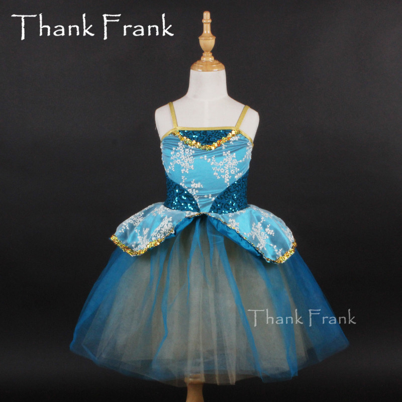 Professional Long Tutu Ballet Dress Kids Adult Ballerina Dance Costume Girls Ballet Leotards Dress For Women