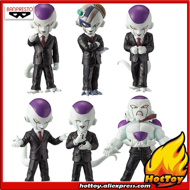 Original Banpresto World Collectable Figure WCF IDEAL BOSS FREEZA Collection Figure - Full Set of 6 Pieces from Dragon Ball Z original banpresto world collectable figure wcf the historical characters vol 3 full set of 6 pieces from dragon ball z
