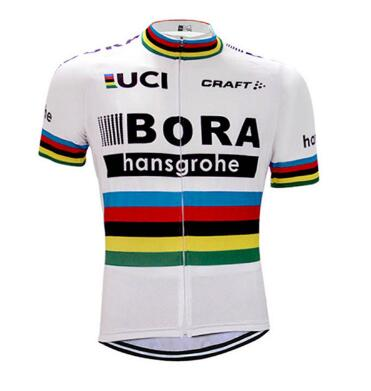 2017 Men Summer BORA Team Short Sleeve Ropa Ciclismo Maillot Bike Clothes Cycling Jersey ...