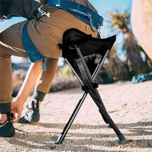 Portable Folding Chair with Carrying Case for Outdoor Camping Walking Hunting Hiking Fishing Travel 200 lbs Capacity