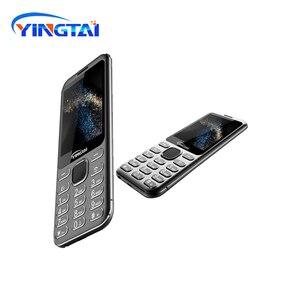 Image 1 - Nouveau modèle original YINGTAI S1 Ultra mince métal placage double SIM écran incurvé caractéristique téléphone portable Bluetooth téléphone portable daffaires