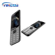 Oringinal 새로운 모델 yingtai s1 울트라 얇은 금속 도금 듀얼 sim 곡선 화면 기능 휴대 전화 블루투스 비즈니스 핸드폰