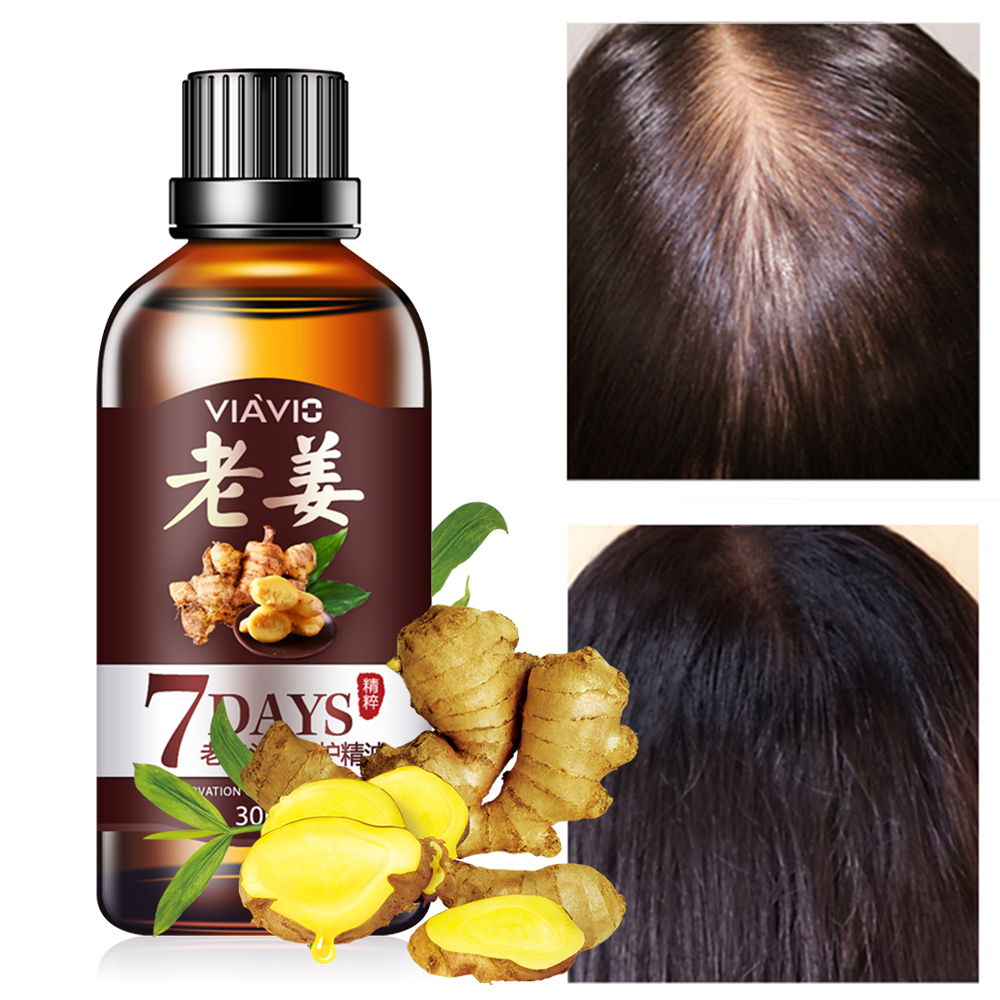 Hair Growth Ginger Care Oil Hairs Mask Essential Oil Repair Dry And Damaged Hairs Nutrition Hair Care