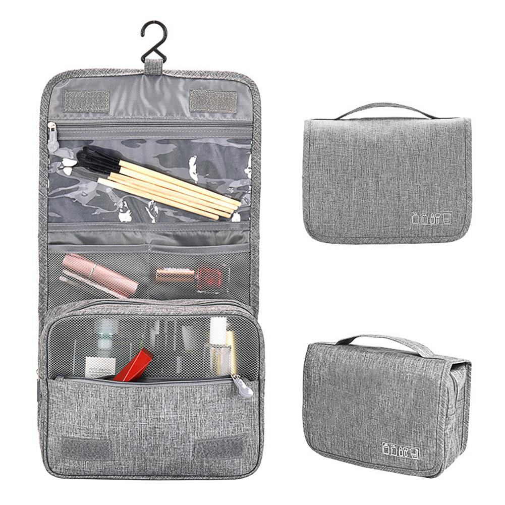TPFOCUS Travel Storage Container Foldable Waterproof Makeup Bag with Hook-in Storage Bags from Home & Garden