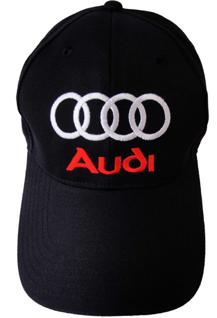 57c2f30ae9b New arrived audi Cap Strapback Cap Embroidered Logo Baseball Hat Black    Gold One Size