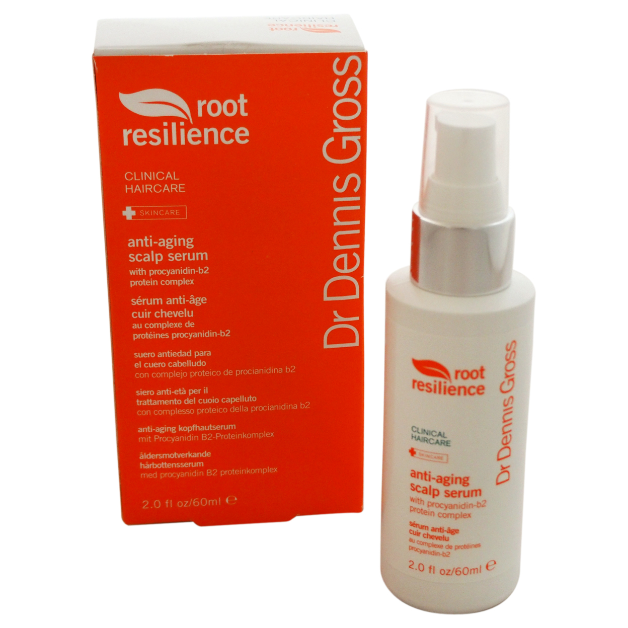 Root Resilience Anti-Aging Scalp Serum by Dr. Dennis Gross for Unisex - 2 oz Serum resilience in cambodia