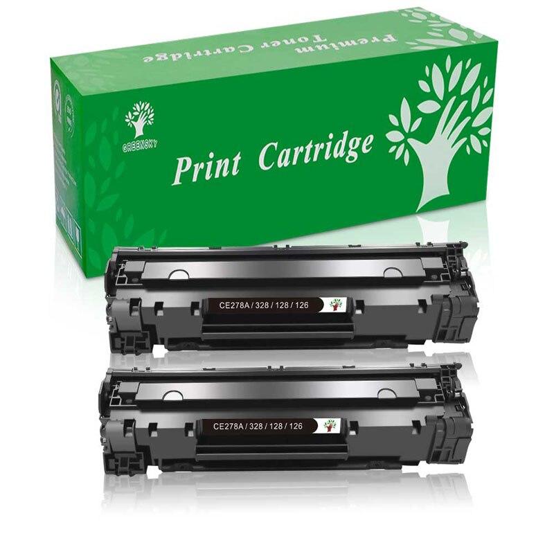 10PK CRG126 C126 For Canon 126 Black Toner Cartridge LBP6200d LBP6230dw Printer