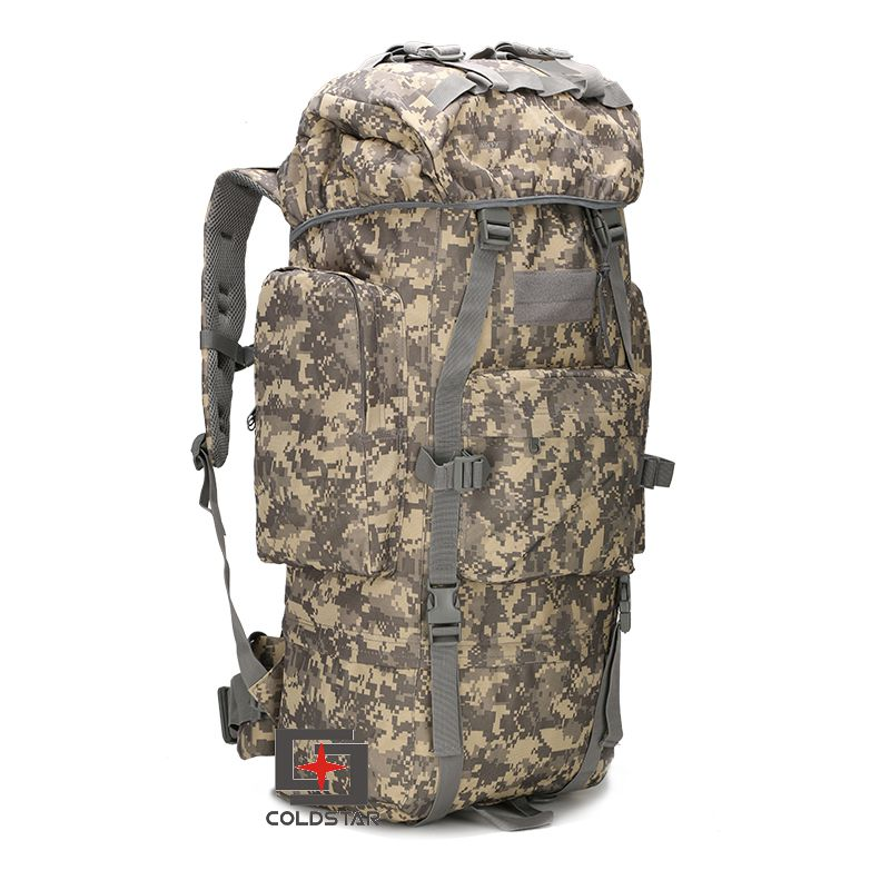 Housse de pluie sac à dos 60L militaire tactique sac unisexe Camping Camo sac à dos extérieur Trekking Sports Packs