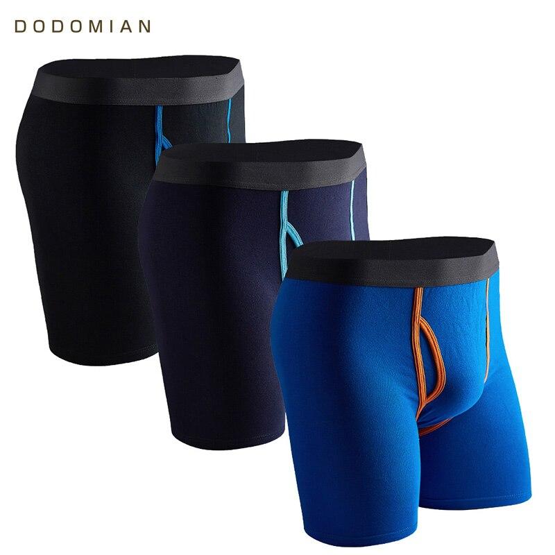 4 Pack Men/'s Mesh Smooth Underwear Boxer Briefs Loose Trunks Home Shorts M-XXXL