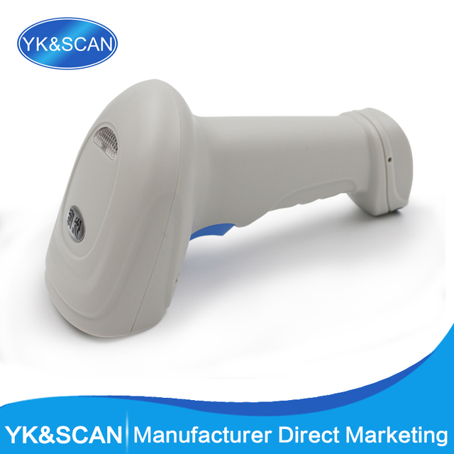 1D/2D/QR Barcode Scanner QR Scanner YK-M3  with USB/RS232 Interface for POS System Free shipping PDF417 QR CODE SCANNER