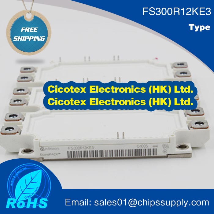 FS300R12KE3 Module IGBT MODULE 1200V 300AFS300R12KE3 Module IGBT MODULE 1200V 300A