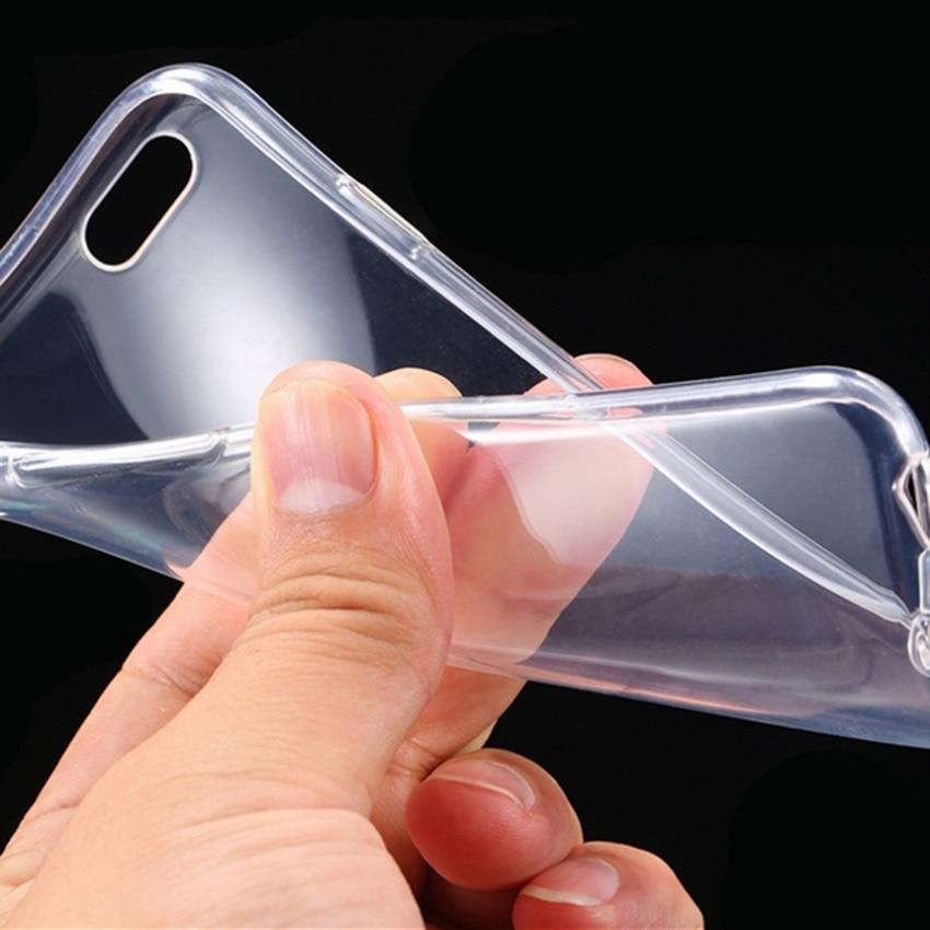 imágenes para 100 unids nuevo 2016 para iphone 6 6s delgado clear tpu teléfono celular case cubierta capa para celular coque iphone 6 6s 4.7 capa para celular
