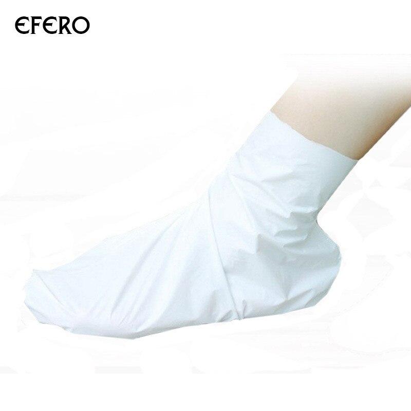 1 Set Feet Mask Moisturizing Pedicure Socks Peeling Exfoliating Sock Spa Foot Dead Skin Removal Feet Care Cream Magic Skin TSLM2 5