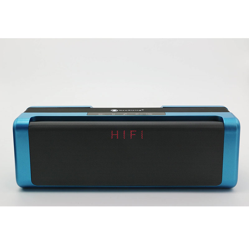 Outdoor Portable Wireless Music Box Bluetooth Speaker 10W Dual Stereo Speakers With Status Display Support FM TF Card MP3 Music