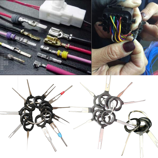 Miraculous 3 8 11Pcs Terminal Removal Car Wiring Crimp Connector Pin Key Hand Wiring Cloud Strefoxcilixyz