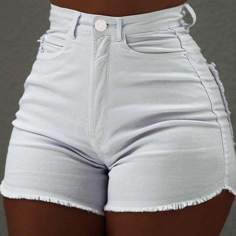 Women's High Waist Denim   Short   Pants Ladies Casual Summer Slim Fit   Short   Jeans Female Sexy Jeans   Shorts