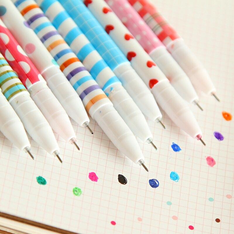 Cute Cartoon Colored Pens Ballpoint 0.38mm  4