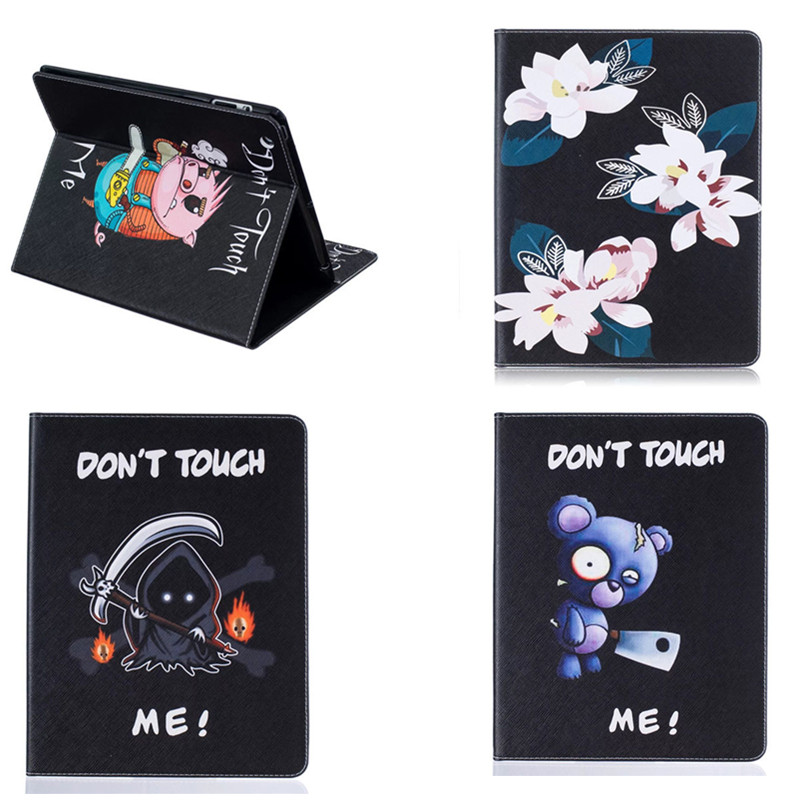 BF For Ipad2 IPad3 ipad4 Protective Tablet Case PU Leather Shockproof Cover For iPad 2 3 4 Cute Case with Card Slot Flip Stand