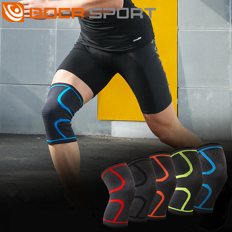 BOER Sport Mbështetje Gju Mbrojtje Fitnes Vrapimi Udhëtimi Kneepads - Veshje sportive dhe aksesorë sportive
