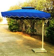 Outdoor umbrellas patio 3 m folded banana shade umbrella rain sun garden advertising