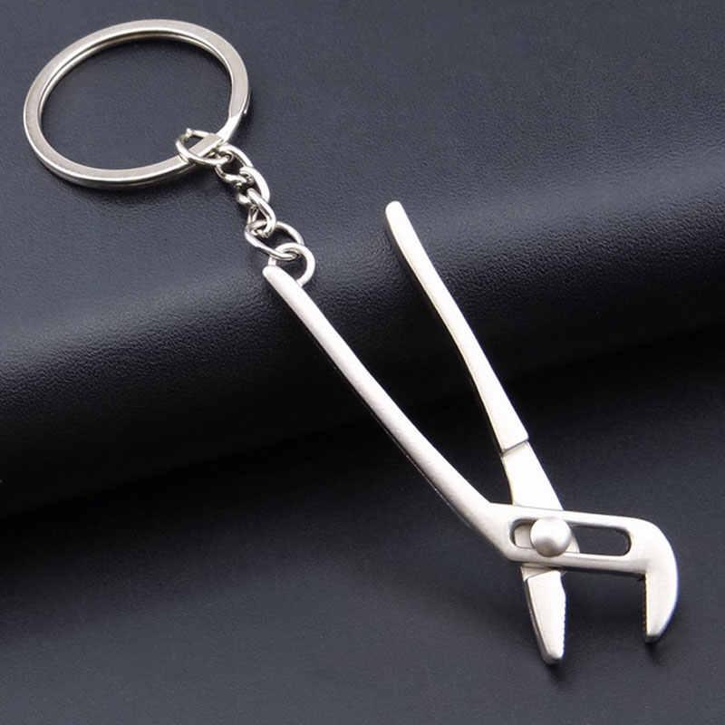 Новинка коготь молоток инструменты для моделирования брелок для ключей творческое Пряжка для ключей гаджеты для мужчин мини-модель инструмент брелок кольцо для ключей YSK04