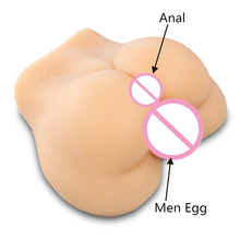 Real Silicone anal sex doll realistic artificial vagina real pussy ass masturbator for man gay life size silicone male dolls new