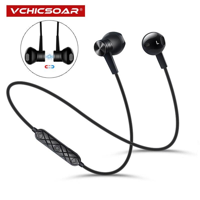 Nuevos auriculares deportivos Bluetooth estéreo Bluetooth 4,2 auriculares inalámbricos auriculares fone de ouvido con micrófono para Xiaomi