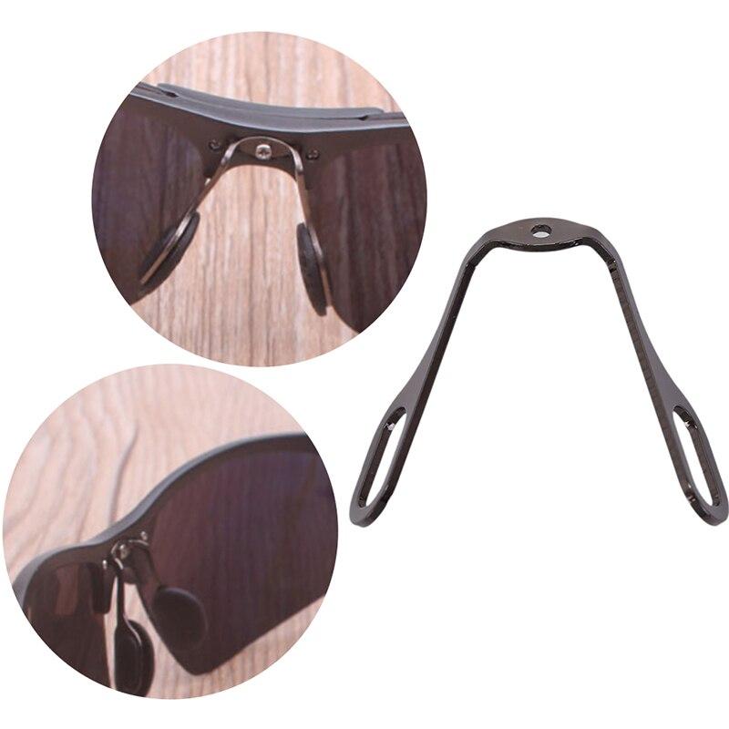 1 Satz Aluminium Brillen Nase Pads Arm Halter Rahmen Stecker Für Stahl Gläser Farben Sind AuffäLlig