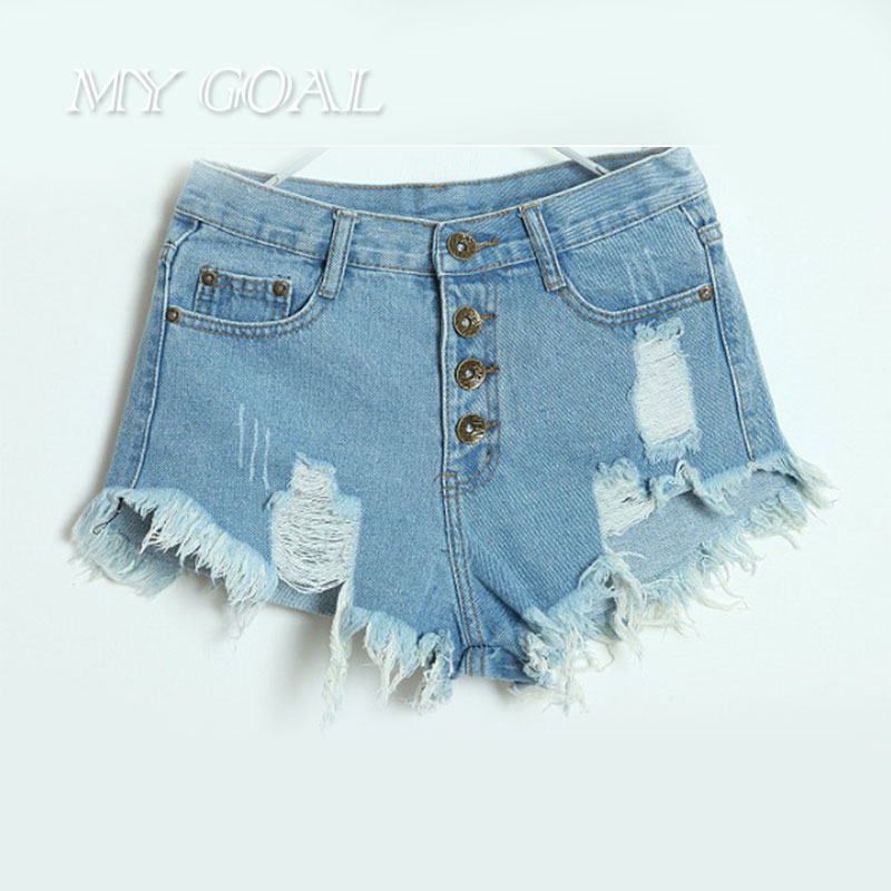 U22b12016 Fashion Summer u1402 Low Low Waist jeans Shorts Ripped Hole Women u2462 Slim Slim Fit Denim Short ...
