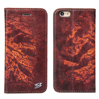 Phone Case For IPhone 6 6s 6plus 6s Plus Fierre Shann Retro Luxury Leather Flip Cover