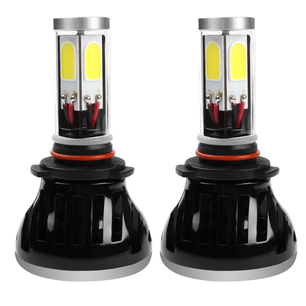 ФОТО Universal G5 9006 Car LED Headlight H1 H3 H4 H7 H11 HB4 Automobile Car Head Light 80W 6000K Lamp With Fan Car-styling Waterproof