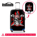 Cool Travel Accessories Skull Print Luggage Protective Covers Bags Elastic Stretch Waterproof Suitcase Cover For 18-30 inch Case