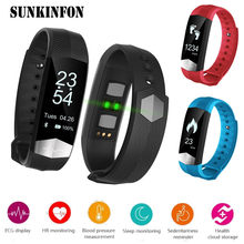 CD01 ECG Blood Pressure Monitor Bluetooth Smart Wristband Sport Fitness Smart Band Bracelet for Samsung Galaxy A9 A8 A7 A5 A3 J7(China)