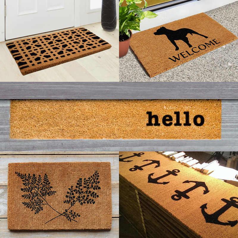 Coco Coir Doormat Natural Material Mat