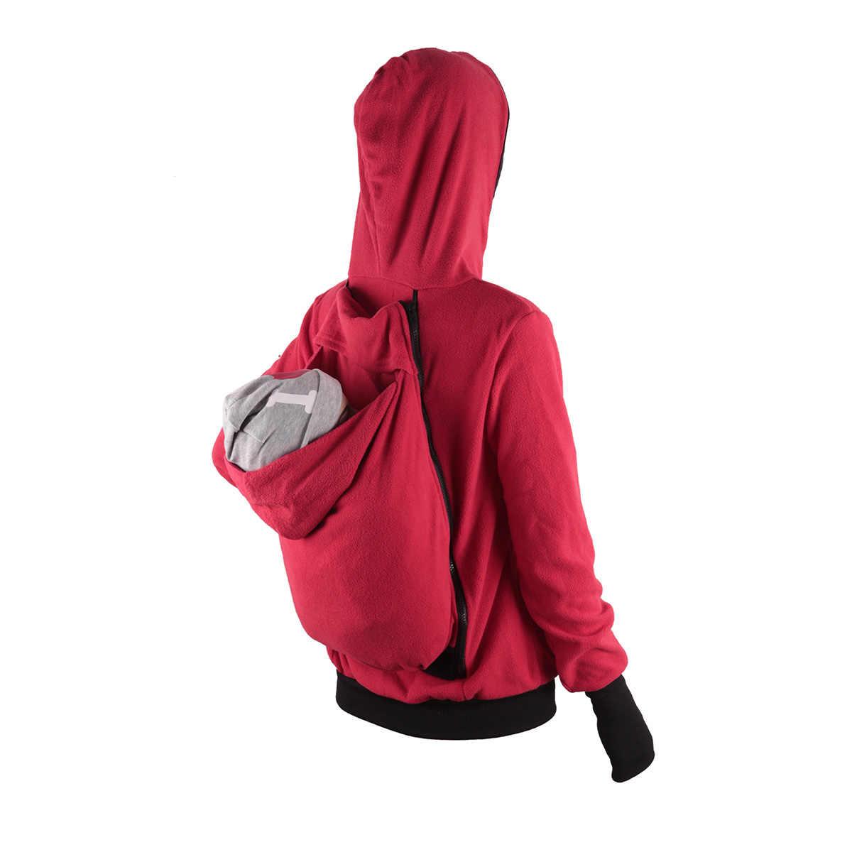 Ergonomiczne nosidełko dla dzieci kurtka kangur bluza z kapturem Manduca macierzyństwo odzież wierzchnia płaszcz pokrywa bawełna zimowa bluza z kapturem noworodka