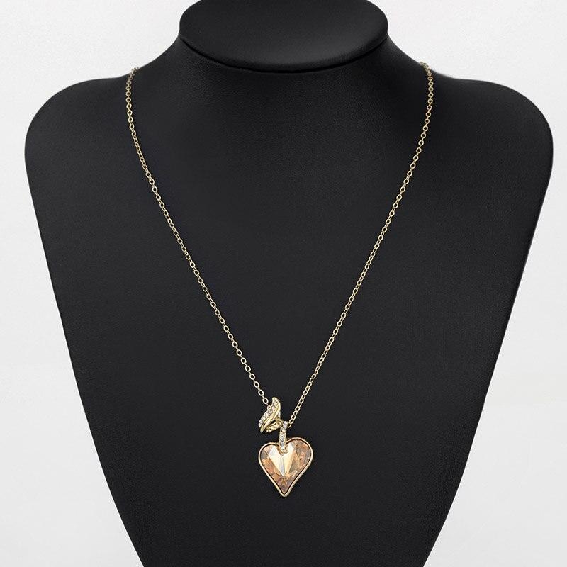 Neoglory Rhinestones de Cristal Austriaco de Cuatro Colores Corazón - Bisutería - foto 5