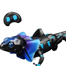 Electric RC Infrared Simulation Lizard with Light Prank Induction Sensor Control Crawling Animal Toys