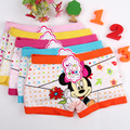 2016 new 3pcs/lot minnie girl underwear girl panties 2-10years Children's underwear briefs panties for girls baby girl clothes