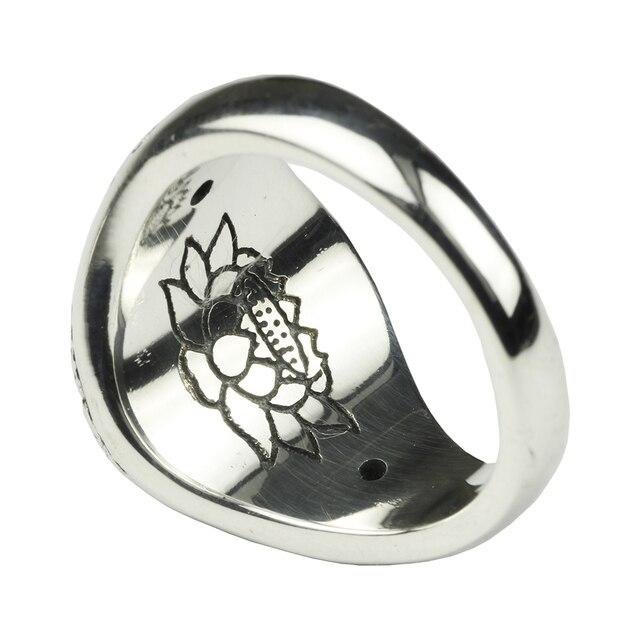 925 Sterling Silver Buddha Ring 1