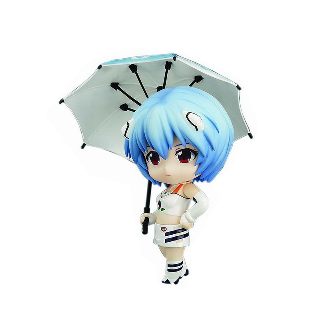 Chanycore GSC Nendoroid 467# EVA Evangelion Ayanami Rei EVANGELION RACING Ver Action Figure Collection Model Toy 10cm 4'' pratical musical instrument portable pockets acoustic guitar practice tool gadget 6 string 4 fret model for beginners hot sale