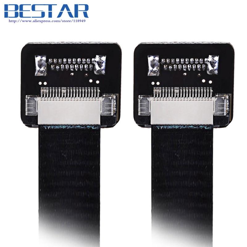 HDMI FPV 10 cm 20 cm 30 cm 50 cm 80 cm 100 cm FPC Lint Platte kabel - Computer kabels en connectoren - Foto 2